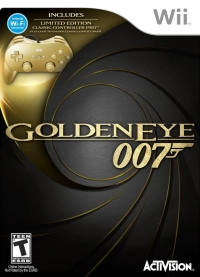 GoldenEye 007 (Limited Edition Classic Controller Pro) Box Art