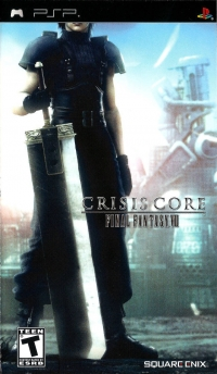 Crisis Core: Final Fantasy VII Box Art