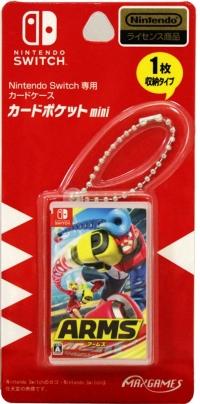 MaxGames Card Pocket Mini (Arms) Box Art