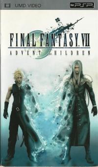 Final Fantasy VII: Advent Children Box Art
