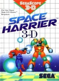 Space Harrier 3-D Box Art