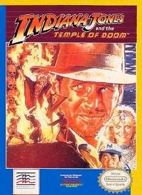 Indiana Jones and the Temple of Doom (grey cartridge) Box Art