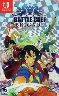 Battle Chef Brigade Deluxe (checkered cover) Box Art