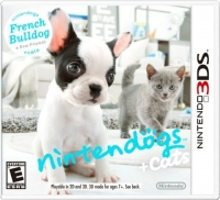Nintendogs + Cats: French Bulldog & New Friends Box Art