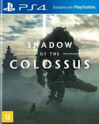 Shadow of the Colossus Box Art