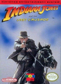 Indiana Jones and the Last Crusade (Ubisoft) Box Art