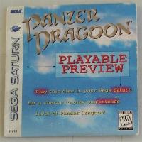 Panzer Dragoon: Playable Preview Box Art