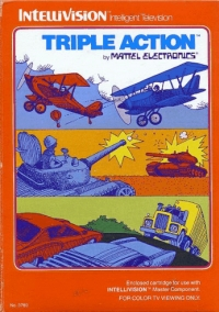 Triple Action (Red Label) Box Art