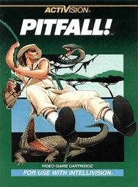 Pitfall! Box Art