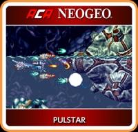 ACA NeoGeo: Pulstar Box Art