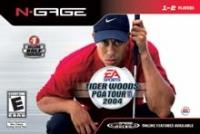 Tiger Woods PGA Tour 2004 Box Art