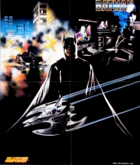 Batman Nintendo Power Poster Box Art