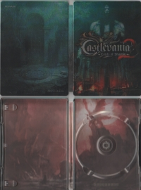 Castlevania: Lords of Shadow 2 - ZAVVI Exclusive Collector's Steelbook Box Art