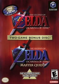 Legend of Zelda, The: Ocarina of Time / Master Quest Box Art