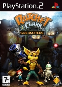 Ratchet & Clank : Size Matters (Promo - Not For Resale) Box Art
