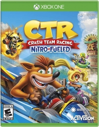 Crash Team Racing: Nitro-Fueled Box Art