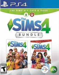 Sims 4 Bundle, The: Cats & Dogs Box Art
