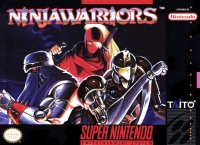Ninja Warriors Box Art