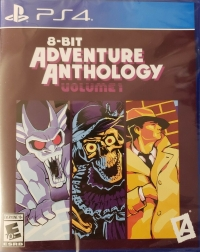 8-Bit Adventure Anthology Volume 1 Box Art