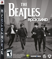 Beatles, The: Rock Band Box Art