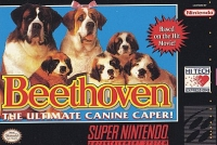 Beethoven: The Ultimate Canine Caper! Box Art