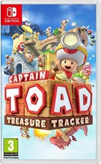 Captain Toad:Treasure Tracker Box Art