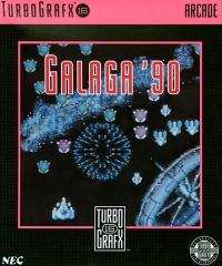 Galaga '90 Box Art