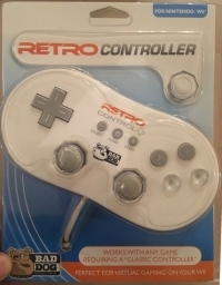 Bad Dog Gaming Gear Retro Controller Box Art