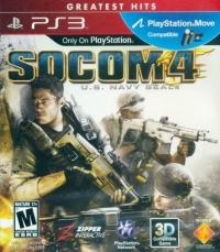 SOCOM 4: U.S. Navy SEALs - Greatest Hits Box Art