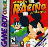Mickey's Racing Adventure Box Art