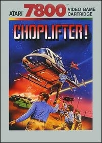 Choplifter! Box Art