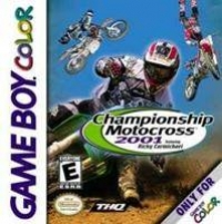 Championship Motocross 2001 featuring Ricky Carmichael Box Art