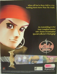 Arc The Lad Collection Promotional Flyer Box Art