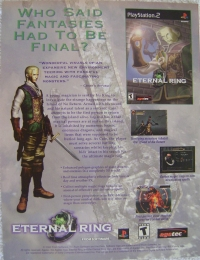 Eternal Ring Promotional Flyer Box Art