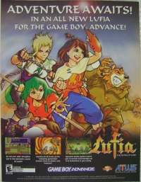 Lufia: The Ruins of Lore Promotional Flyer Box Art