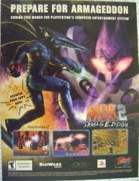 MDK 2: Armageddon Promotional Flyer Box Art