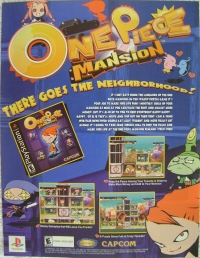 One Piece Mansion Promotional Flyer Box Art