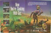 Oddworld: Abe's Exoddus Promotional Flyer / Poster Box Art