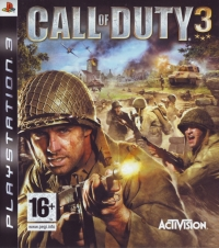 Call of Duty 3 Box Art