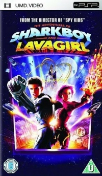 Adventures of Sharkboy and Lavagirl, The Box Art