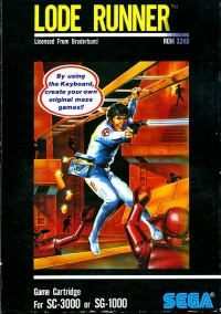 Lode Runner Box Art