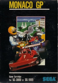 Monaco GP Box Art