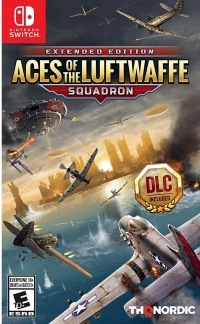 Aces of the Luftwaffe: Squadron - Extended Edition Box Art
