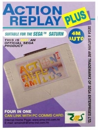 Action Replay 4M Plus Box Art