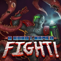 A Robot Named Fight Box Art