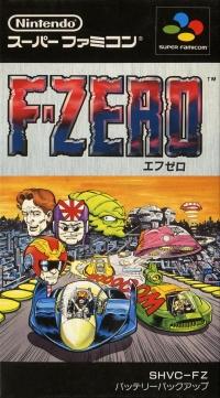 F-Zero Box Art