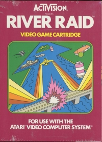 River Raid (Picture Label) Box Art