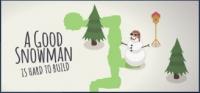 Good Snowman Is Hard To Build, A Box Art