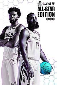 NBA LIVE 19: All-Star Edition Box Art