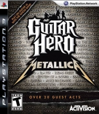 Guitar Hero: Metallica Box Art